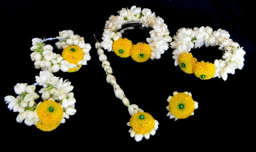 Gajra Flower Jewellery