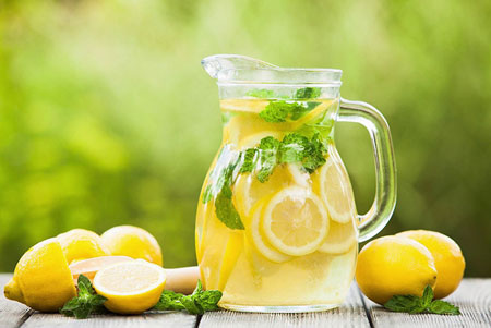 Benefits Drinking Lemon Water