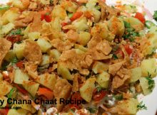 Spicy Chana Chaat Recipe