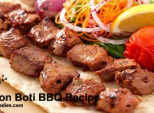 Mutton Boti BBQ Recipe