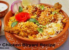 Spicy Chicken Biryani Recipe