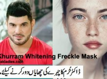 Dr Khurram Whitening Freckle Mask