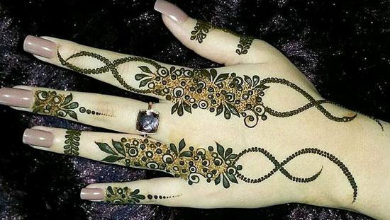 Elegant Mehndi Designs