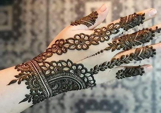 Elegant Mehndi Design 2019