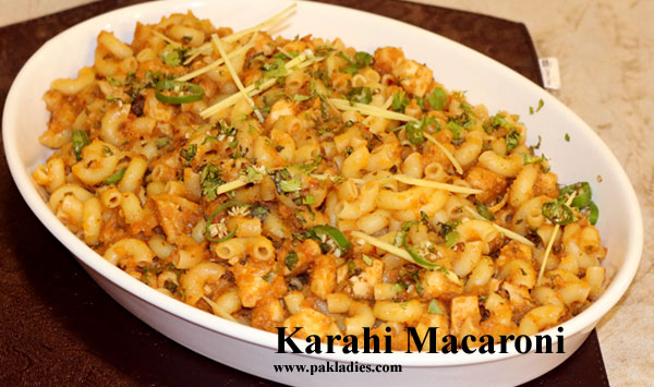 Karahi Macaroni