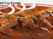 Lamb Leg Korma in a Dish