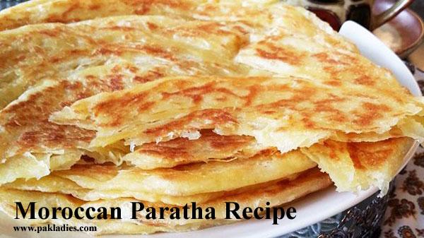 Moroccan Paratha Recipe