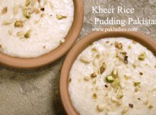 Kheer Rice Pudding Pakistani