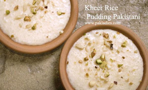 Kheer Rice Pudding Pakistani