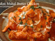 Moti Mahal Butter Chicken