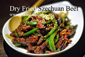 Dry Fried Sichuan Beef
