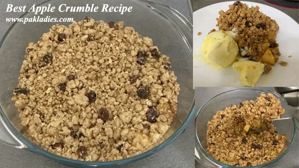 Best Apple Crumble Recipe