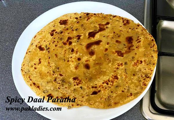 Spicy Daal Paratha