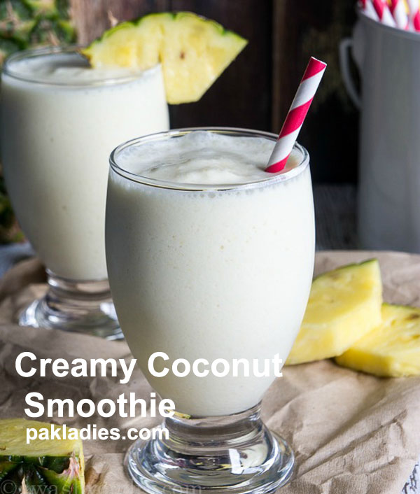 Creamy Coconut Smoothie