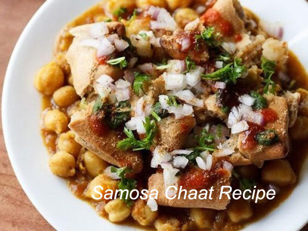 Samosa Chaat Recipe