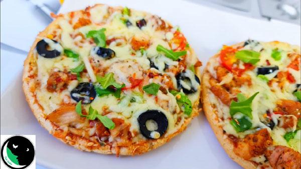 Mini Pizza without Pizza Dough