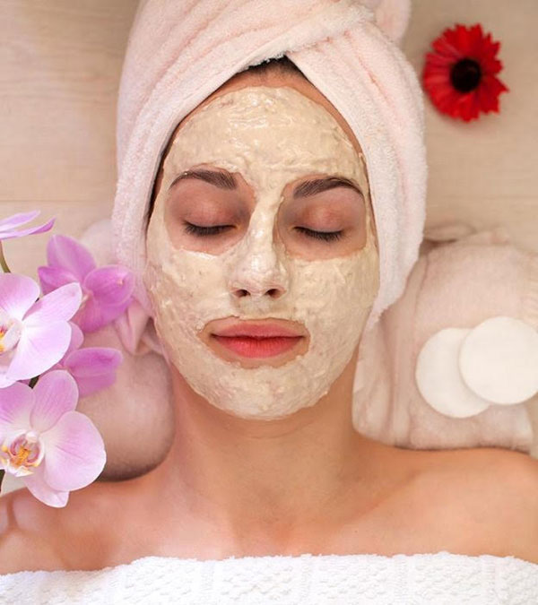 Besan and Rose Water Face Pack